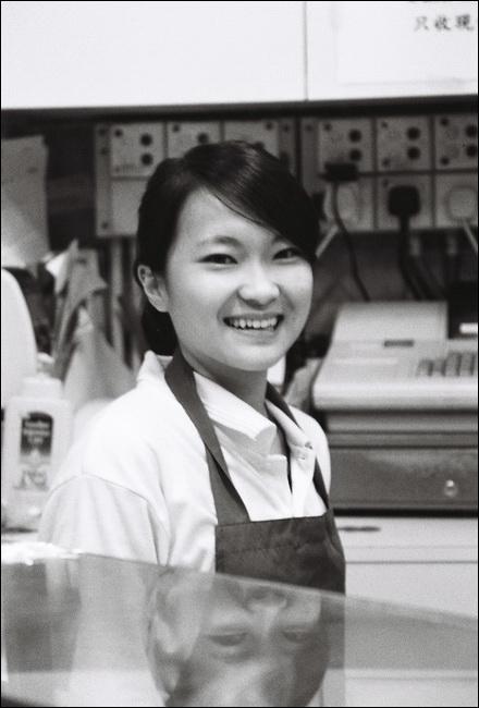 bakery girl in hong kong