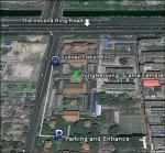 מקדש הלאמה - מפת הגעה