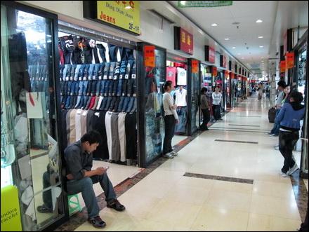 יום חלש לחנויות בשוק הטאובאו